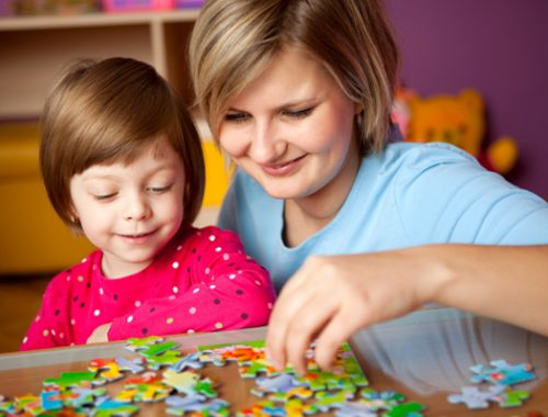 let your kids bloom with puzzles